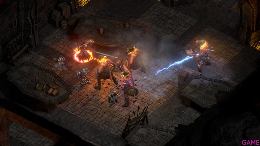 Pillars of Eternity II captura de pantalla