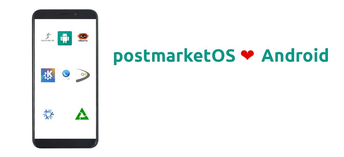 postmarketOS podría soportar apps de Android