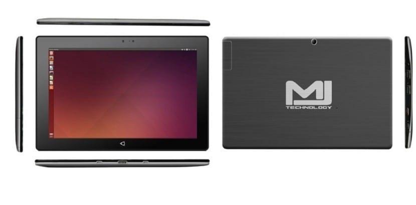 Así es la Tablet MJ de Ubuntu