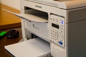 Stallman y la impresora