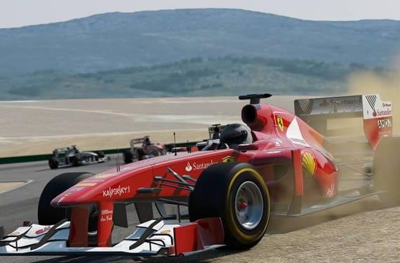 Project Cars. Imagen de un Ferrari F1
