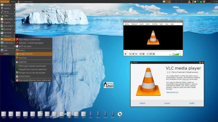 PuppEX Linux basado en Puppy Linux Slacko64 6.3.0