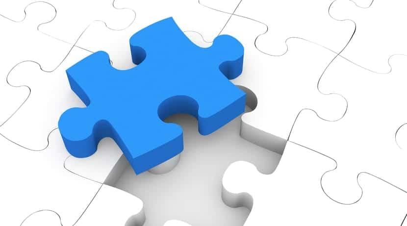 Puzzle pieza suelta