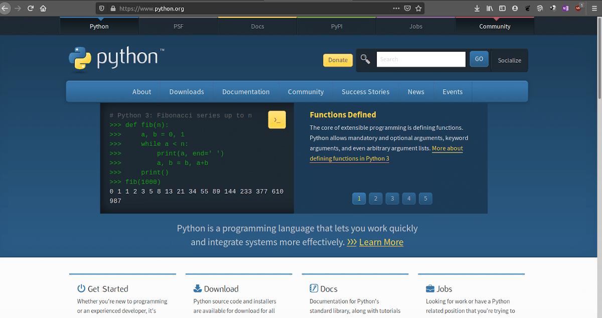 Programando en Python usando Linux