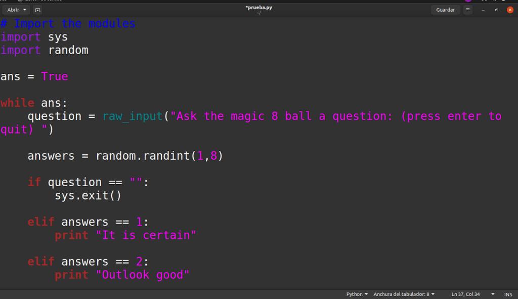 Usar Python en Linux es una excelente idea si quieres aprender a programar