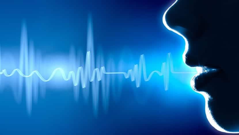 Fondo de reconocimiento de voz