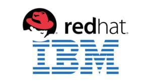 Red Hat e IBM logos