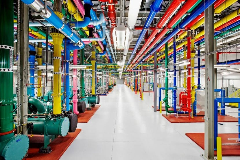 Refrigeración de un data-center de Google