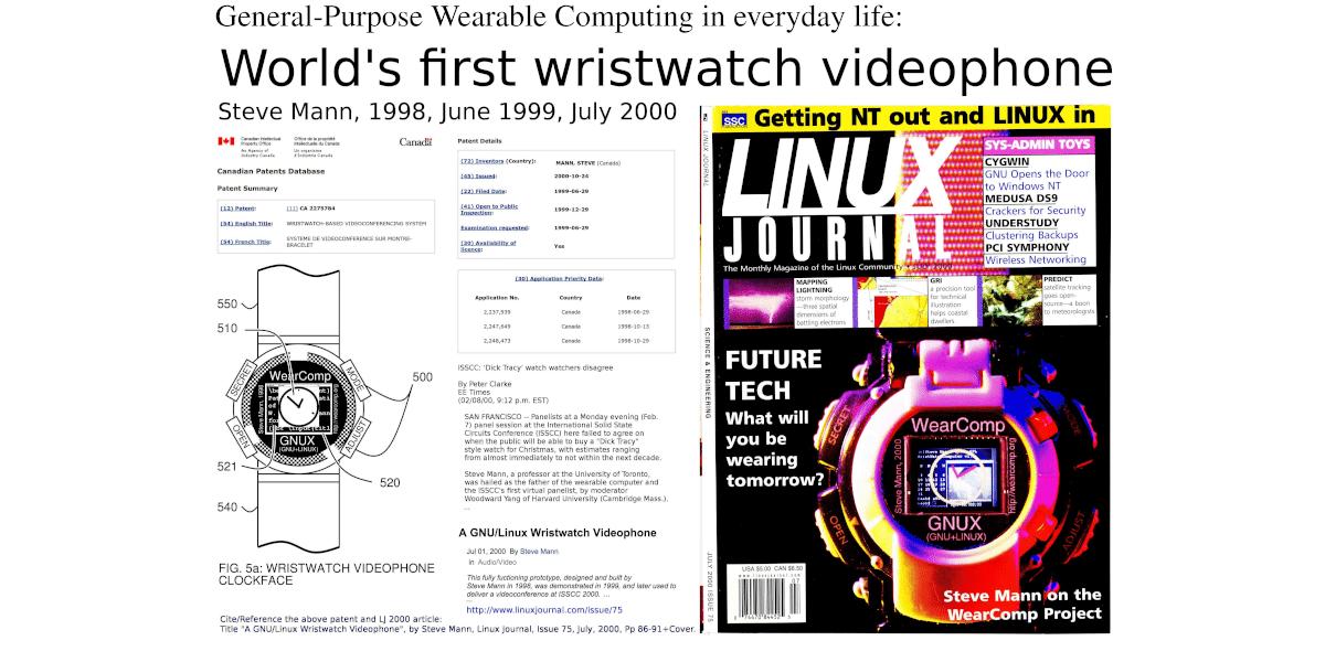 Los relojes con Linux datan de la década del 90