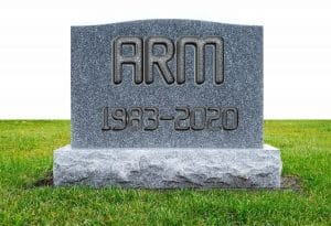 ARM, NVIDIA: tumba