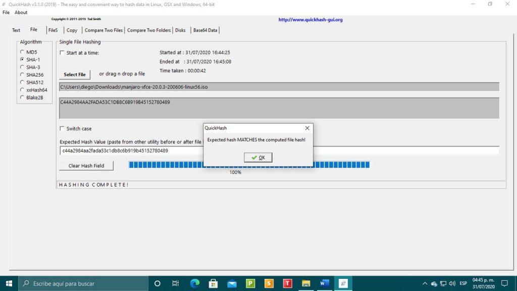 Cómo comprobar la integridad de una distribución Linux