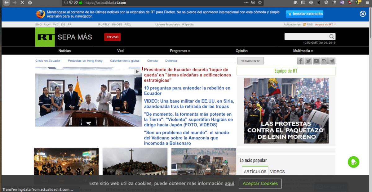 Un comité de inteligencia considera al portal de videos una de las herramientas preferidas por la propaganda rusa.
