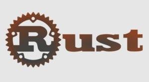 Logotipo de Rust con engranaje