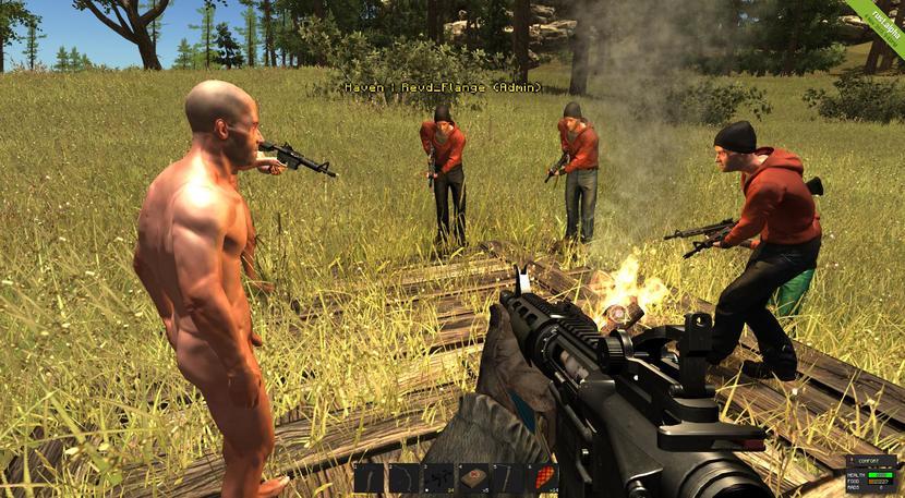 Rust: imagen juego de supervivencia
