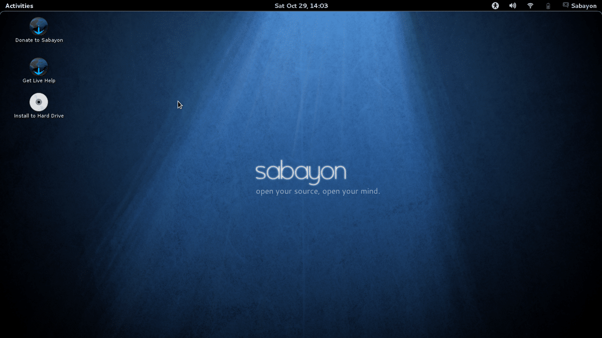 Sabayon OS rolling release