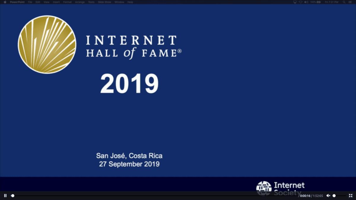 Salón de la Fama de Internet