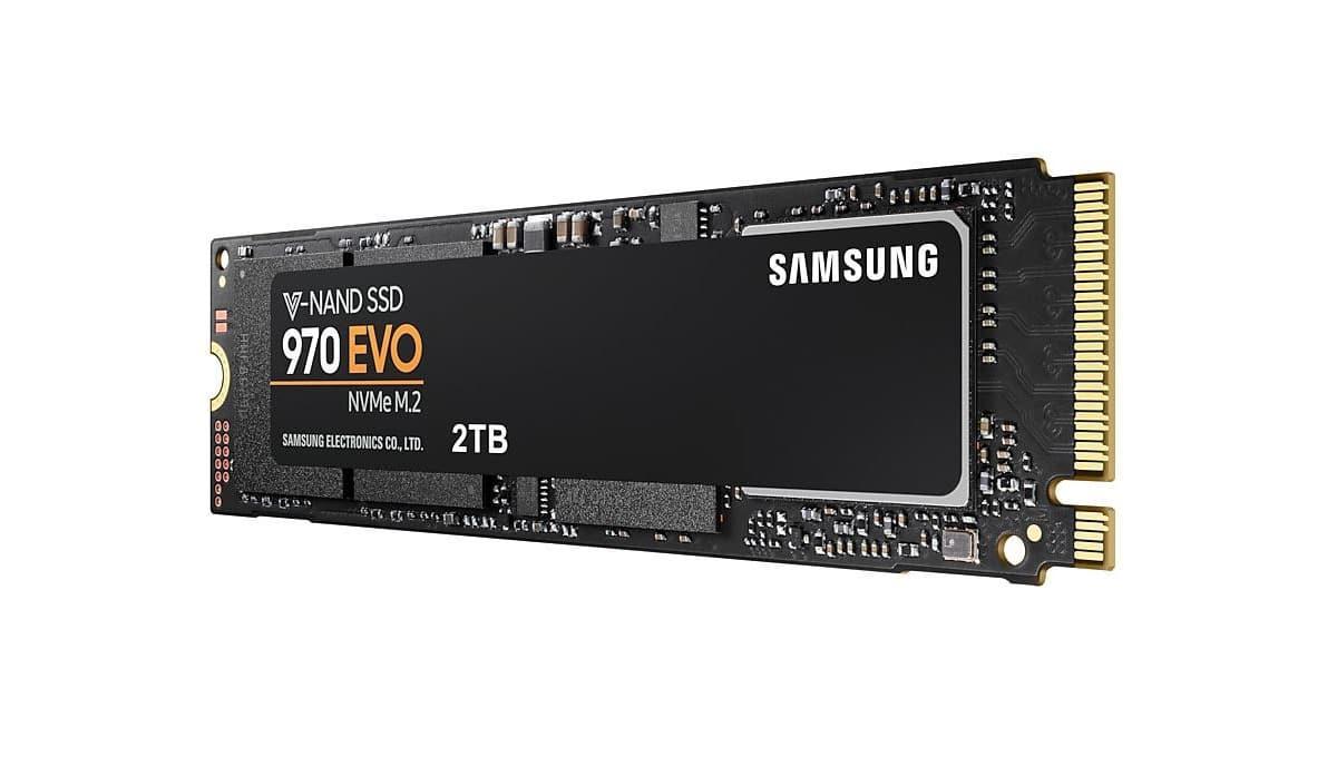 M.2 NVMe SSD PCIe