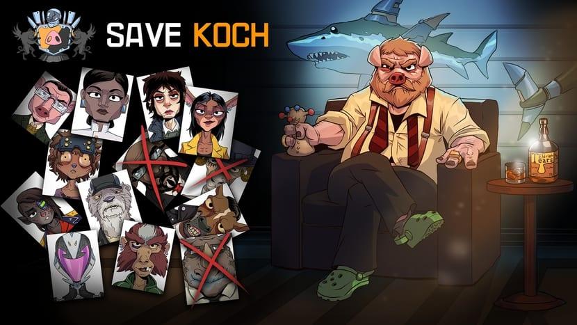 portada de Save Koch