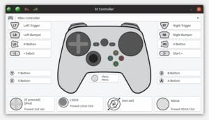 Captura pantalla SC Controller