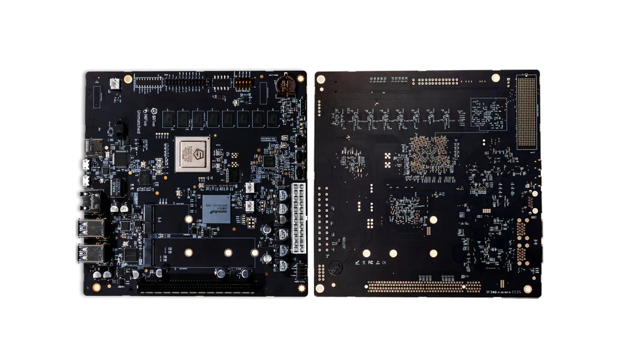 RISC-V placa base para PC, SiFive HiFive Unmatched