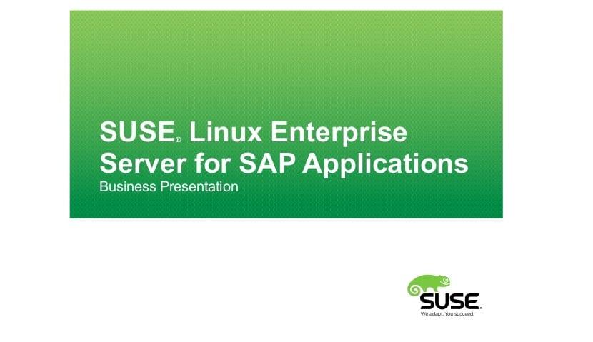 SLES for SAP Apps