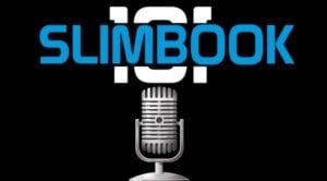 Slimbook logo y micrófono