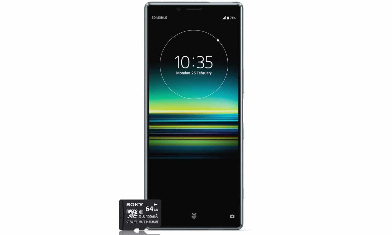 Sony Xperia smartphone Black Friday