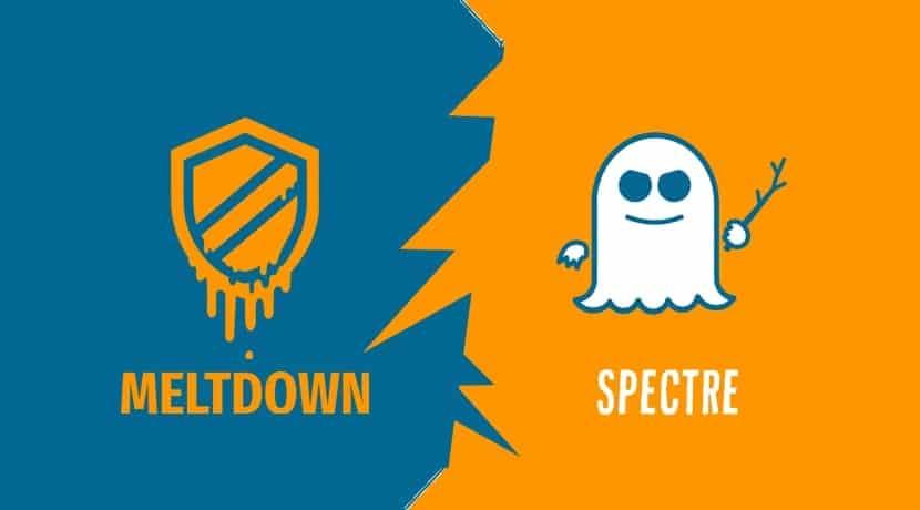 Spectre y Meltdown logos