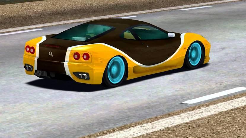 speed dreams coche en pista