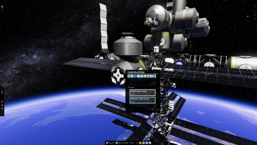 Estación espacial en Stable Orbit