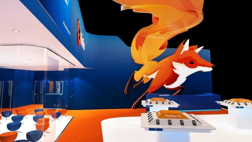 Stand Mozilla MWC 2015