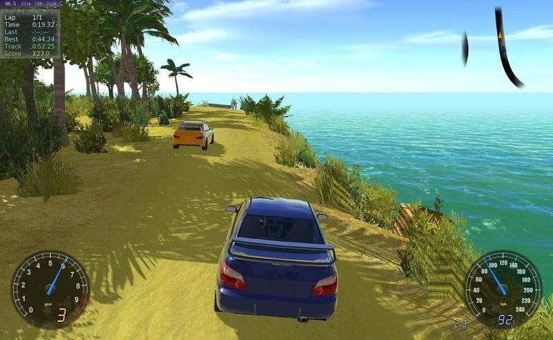 Stunt Rally 2.5 captura de pantalla