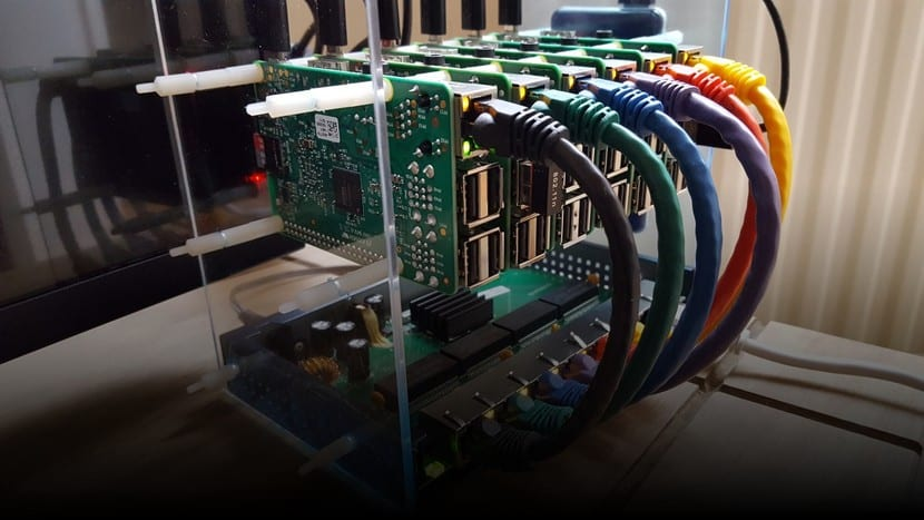 Supercomputador con placas Raspberry Pi