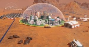 Surviving Mars: captura de pantalla