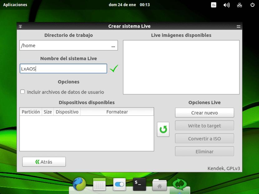Systemback segunda pantalla