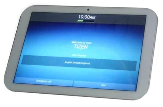 Tablet Systena con Tizen