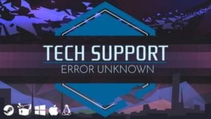 Portada de Tech Support: Error Unknown