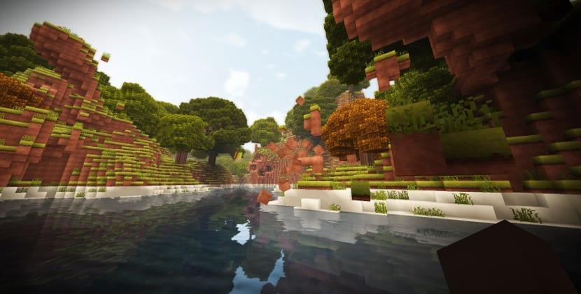 Captura de pantalla de Terasology, un clon de Minecraft