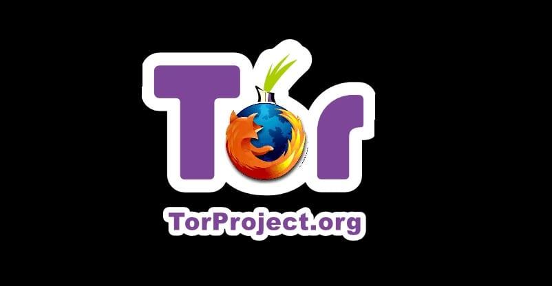 Logo de Tor con incrustación del logo Firefox
