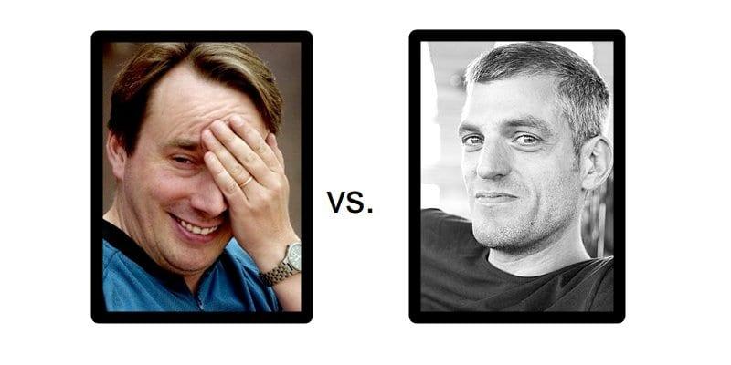 Fotografía de Torvalds vs. Sievers