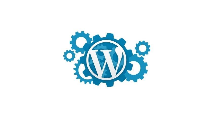 Engranajes con logo WP