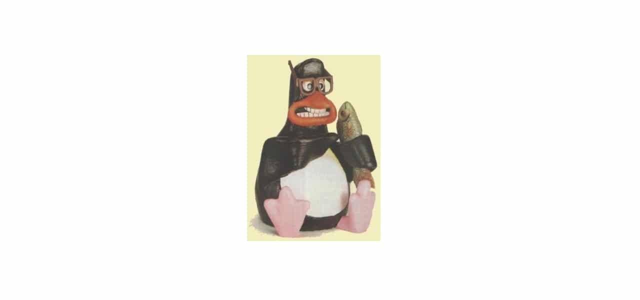 Pingüino que inspiró a Tux