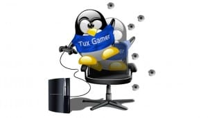 Tux PC Gamer Linux