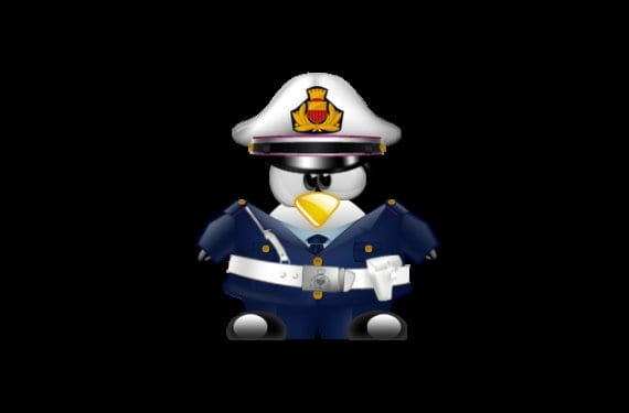 Tux policia