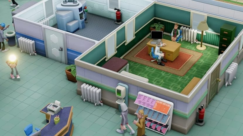 Two Point Hospital captura de pantalla