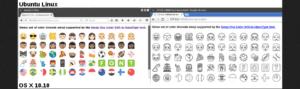 emojis en ubuntu