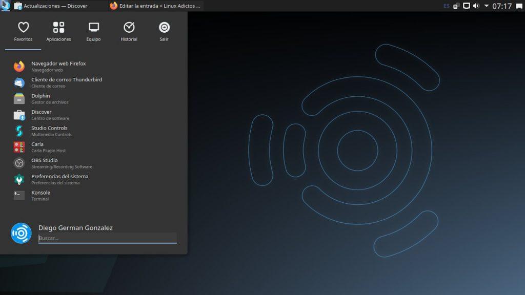 Ubuntu Studio con KDE Plasma