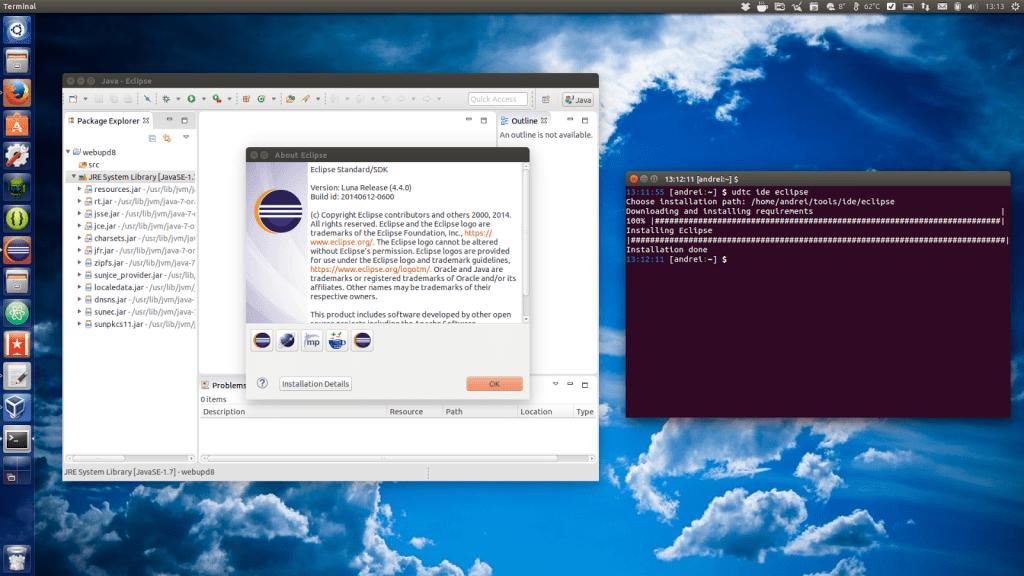 ubuntu developer tools center