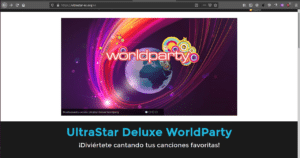 UltraStar Deluxe WorldParty