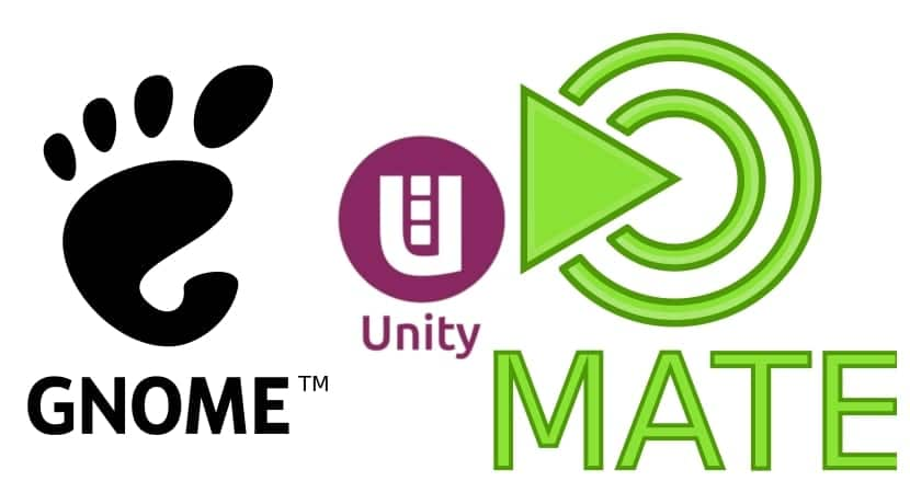 unity-gnome-mate-logos